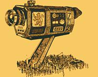 Cartel de cine Zaragoza