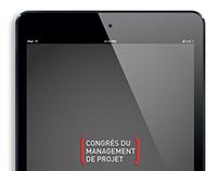 Congrés du Management de Projet - iPad App