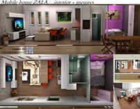 K2MODUL,mobile home-interior