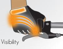 Endurance LED Cycle Gloves