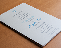 Handler Azose Wedding Invitations
