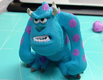 FIMO work : Monsters University, Sulley