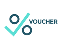 """Voucher"" redesigned identity and web site"