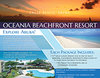 EAGLE BEACH,ARUBA Brochure Design