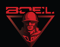 BOEL CLAN Logo design