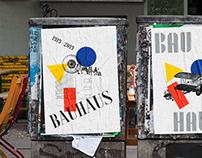 Bauhaus Posters Serie