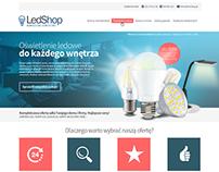 Projekt Szablonu Allegro LedShop