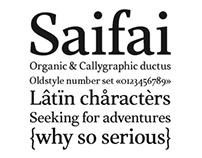 Saifai Typeface