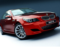 3D // BMW M5 - E69