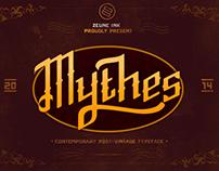 Mythes - Free Typeface