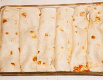 Vegetarian Enchilada's