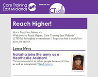 E-newsletter for job seekers