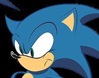 Sonic versus Gollum