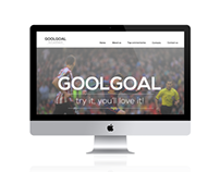 WEB DESIGN FOR GOOLGOAL.COM