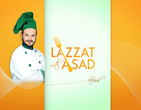 Lazzat With Asad Title