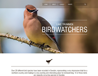 Lake Trummen Birdwatchers Park Website
