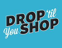 Drop 'til You Shop Logo Concepts