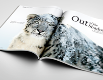 The Wild: Snow Leopard Magazine Spread