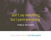 Irena Valdes - Art therapy - identity