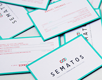Sematos Traduction // Branding - Web Design