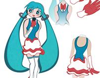 Hatsune Miku Design