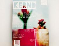 Student Work: Kernd - A Typography Magazine
