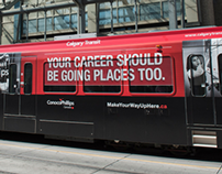 ConocoPhillips Train Wrap