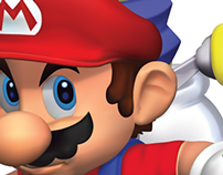 Mario Gradient Mesh, Illustrator