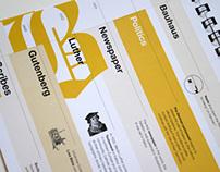 Typographic Book: Blackletter