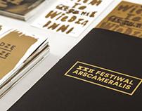 Festiwal Ars Cameralis 2013 — prints