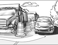 commercial storyboard samples