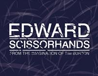Edward Scissorhands // Cartaz
