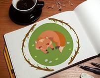 Sleeping Forest {illustrations series}