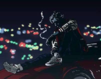 Kavinsky fan art