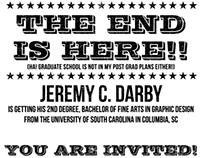 2013 Graduation Invitation
