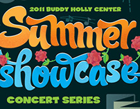 Buddy Holly Center Showcase Poster