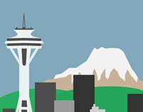 Flat Seattle