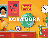 KORA BORA | Explainer video, Storyboard and Animation.