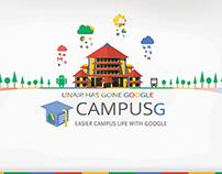 Campus G backdrop