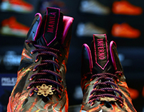 Lebron X Customs