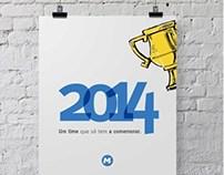 Calendário MetrôRio 2014