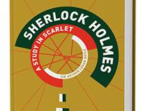 Book Cover Design - Sherlock Holmes