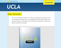 UCLA Admissions 2013 Email Marketing Campaign
