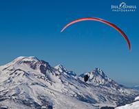 Paragliding, Mt Bachelor 1/14