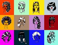 Zodiac gals