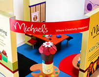 Michaels Trade Show Booth Concept