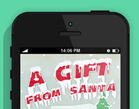 Game App - A Gift From Santa; Christmas