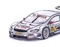 Sauber F1 DTM