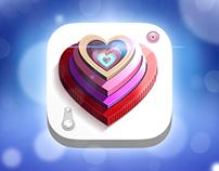 Love Camera iOS Icon