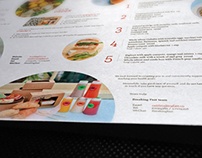 Breaking Fast bilingual multi-fold brochure